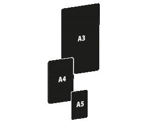 BLACKBOARD / 000460 –A7 ;000459 –A6 ;000803 –A5;000458 –A4 ;000843- A3 ;000994-A1